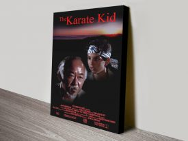 Buy Ready to Hang Karate Kid Wall Art