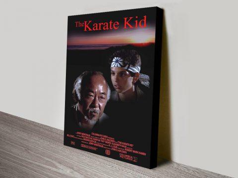 Buy Ready to Hang Karate Kid Wall Art