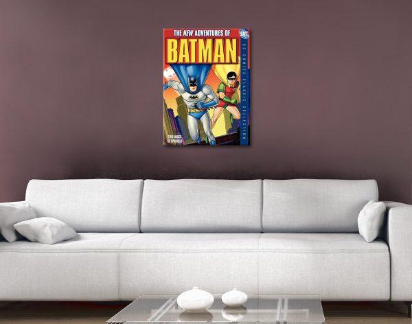 Buy The New Adventures of Batman Artwork