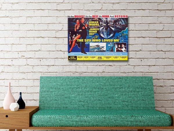 Buy Ready to Hang James Bond Wall Art