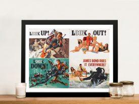 Buy a James Bond Thunderball Movie Poster