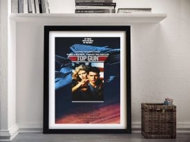 Buy a Framed Top Gun Tom Cruise Poster