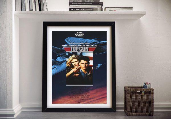 Buy a Framed Top Gun Tom Cruise Poster