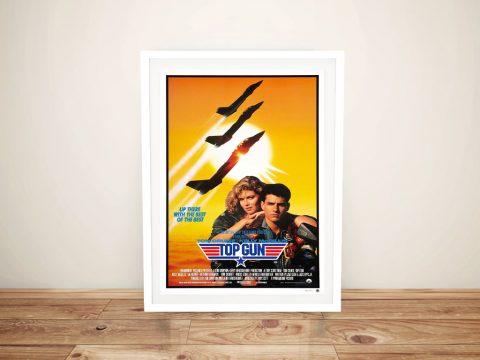 Buy a Ready to Hang Top Gun Movie Poster Print