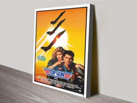 Buy Top Gun Framed Movie Poster Artwork