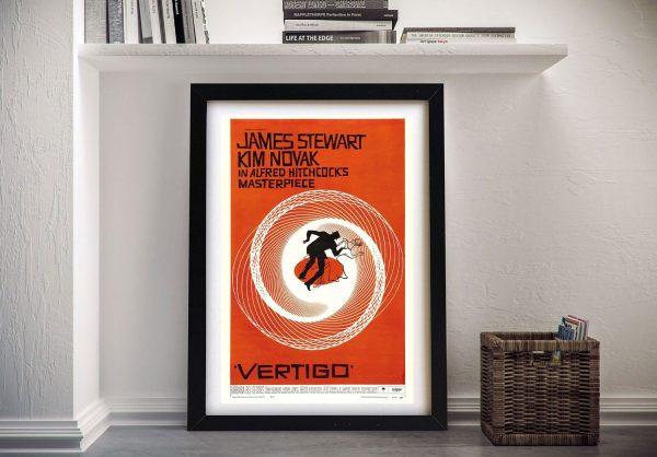 Buy a Vertigo Poster Print Unique Gifts AU
