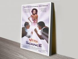 Buy a Framed Weird Science Film Poster Print