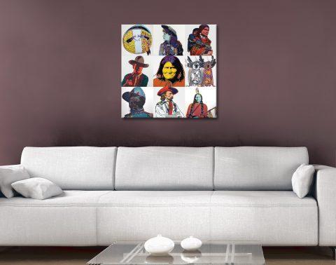Buy Affordable American West Pop Art Online