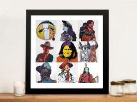 Buy a Cowboys and Indians Pop Art Print
