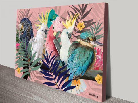 Buy Australian Native Birds Framed Art