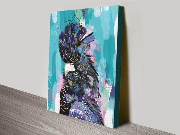 Buy a Karin Roberts Black Cockatoo Print