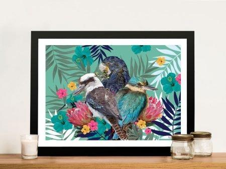 Buy Karin Roberts Tropical Birds Framed Art