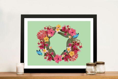 Buy Botanical Reef Framed Floral Wall Art