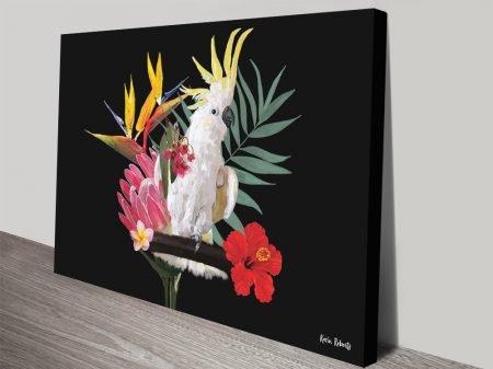 Buy Botanical Reef Australian Canvas Art