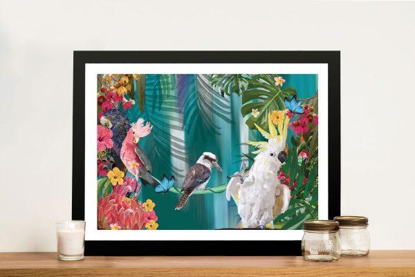 Buy Coast of Eden Australian Bird Wall Art