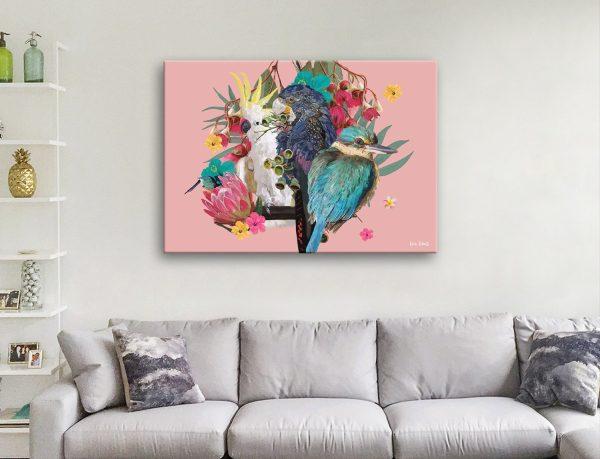Buy Karin Roberts Wild Birds Colourful Art AU