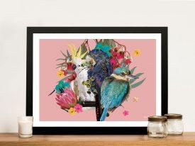 Buy Karin Roberts Aussie Birds Art on Canvas