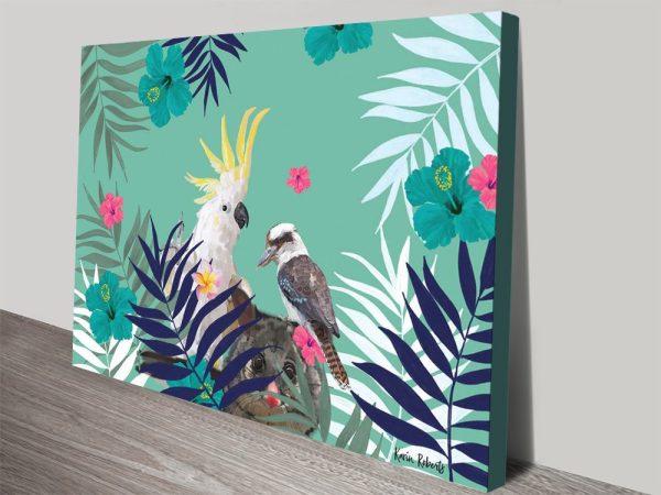 Buy Cockatoo Possum Kookaburra Framed Art