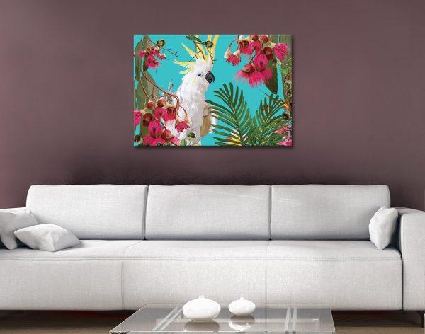 Buy Ready to Hang Tropical Bird Artwork