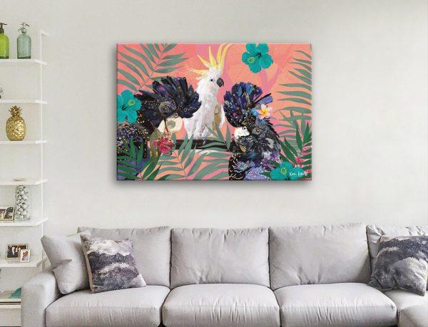 Get Ready to Hang Karin Roberts Bird Art AU