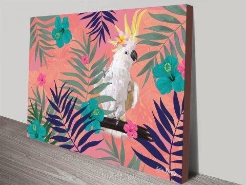 Buy Cocky Ferns Karin Roberts Aussie Art