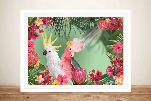 Buy Pretty Australian Birds Wall Art Online