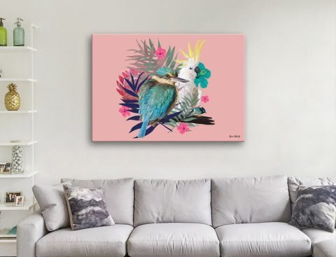 Buy Ready to Hang Australian Birds Artwork