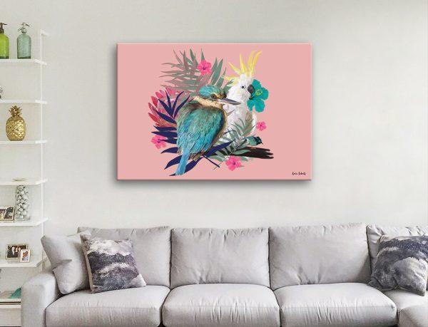 Buy Ready to Hang Australian Birds Artwork