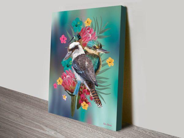 Buy Colourful Australian Birds Framed Art
