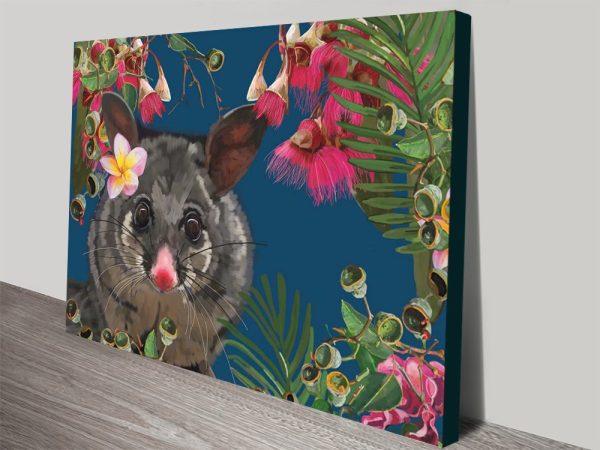 Buy Ready to Hang Karin Roberts Possum Art