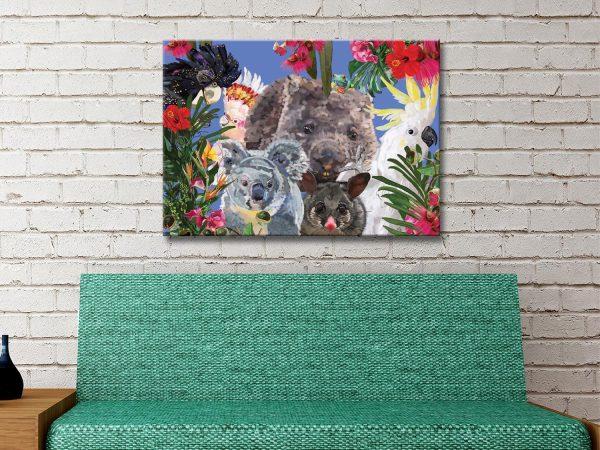 Buy Karin Roberts Ready to Hang Wildlife Art AU