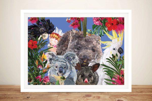 Buy Native Australian Animals Art Online