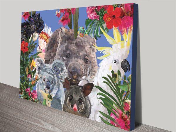 Buy Uniting as One Framed Wildlife Artwork