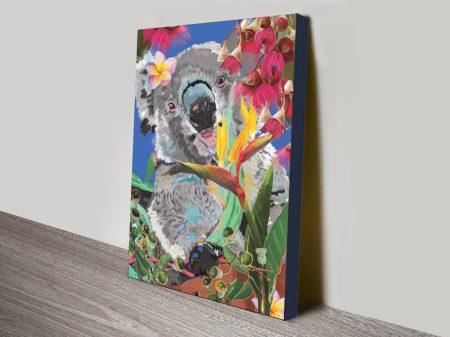 Buy a Framed Karin Roberts Koala Print