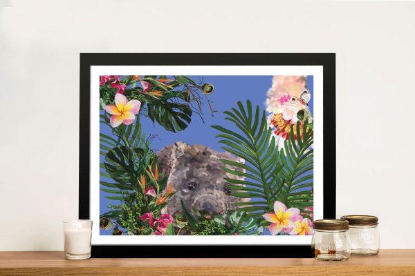 Buy Karin Roberts Wombat Wall Art Online