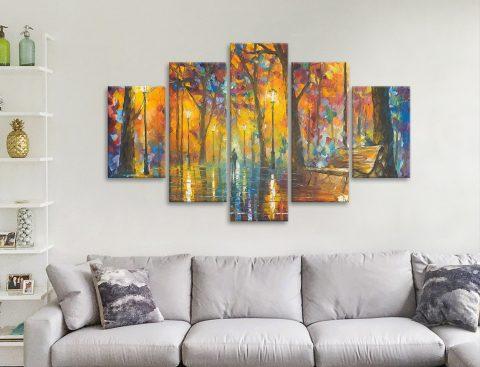 Buy Split Panel Leonid Afremov Art Cheap Online