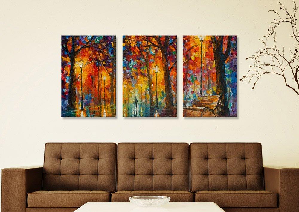 Buy Leonid Afremov Affordable Triptych Art