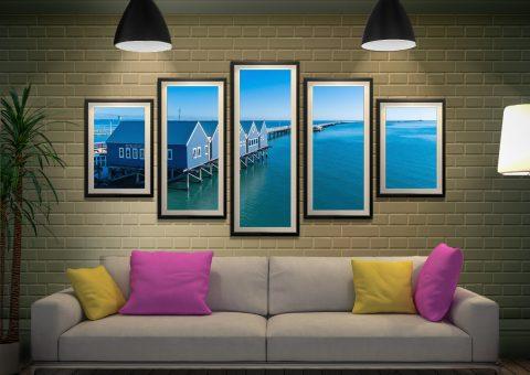 Buy Framed Busselton Jetty Art Gift Ideas AU