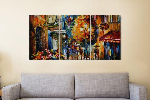 Buy Leonid Afremov 3-Panel Canvas Art Online