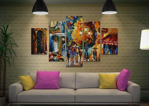 Buy Ready to Hang Split Canvas Afremov Art