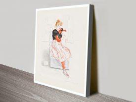 Buy a Framed Print of Celia Observing