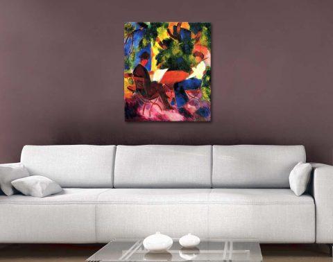 Buy Colourful Classic Macke Abstract Art AU