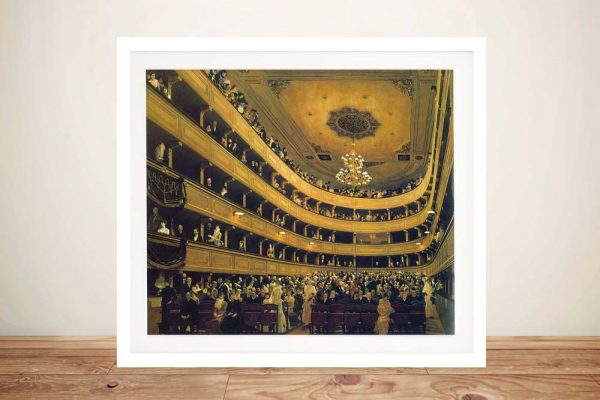 Buy a Classical Framed Print of Hall by Klimt