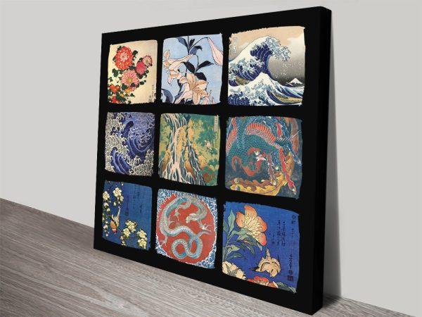Buy Hokusai Prints on Canvas Cheap Online