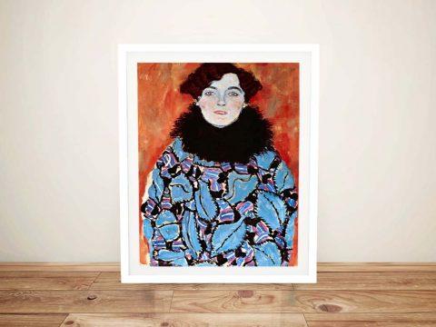 Buy a Gustav Klimt Print of Johanna Staude