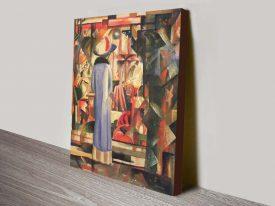 Buy Large Bright Showcase Macke Canvas Art