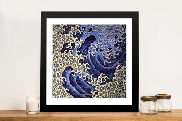 Masculine Waves (Onami) Fine Art Print