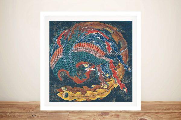 Buy Matsuri Yatai Phoenix Framed Art
