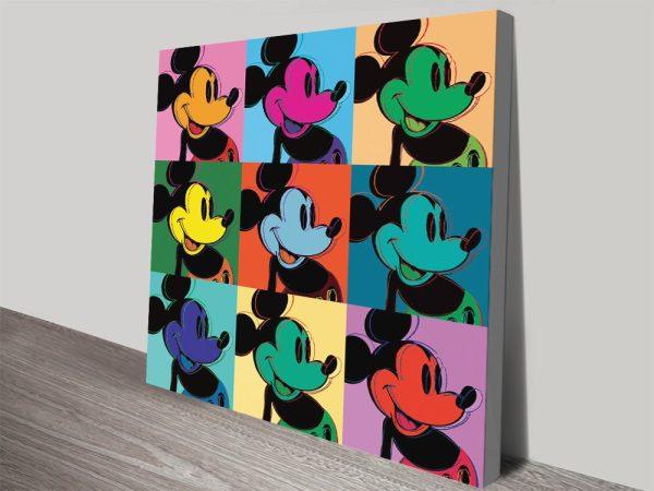 Buy Vintage Mickey Warhol Prints Cheap Online