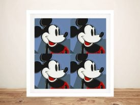 Buy a Retro Mickey Mouse Pop Art Print